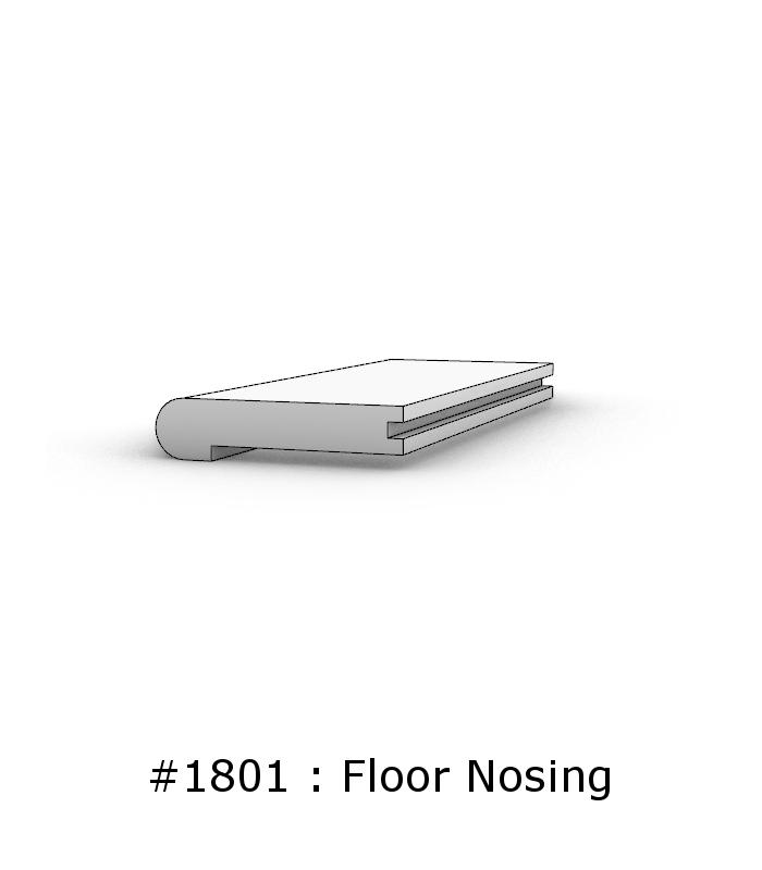 hardwood floor nosing