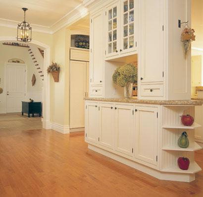 "Hard Maple Mirage Classic 3/4"" Solid Wood Floor: Auburn Stain Lacasse Fine Wood Products Sudbury Ontario"
