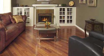 """Mirage Engineered 3/8"""" Hardwood Floor: Santos Mahogany"""