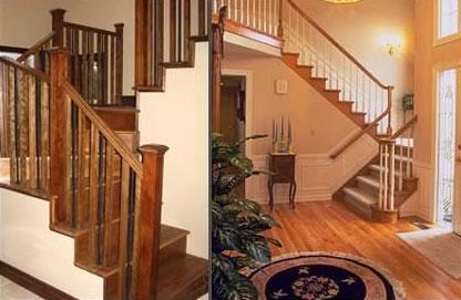 Stairs & Railings Lacasse Fine Wood Products Sudbury Ontario